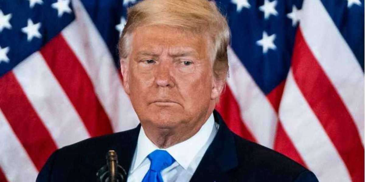 US election: President Trump begs for funds to settle debts